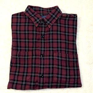 J. Crew plaid shirt. Medium. NWOT